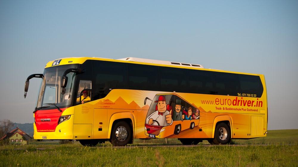 Scania Car, 51 Sitzplätze, Fahrschulbus