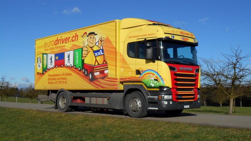 Lastwagen für Bildschrim (Small)