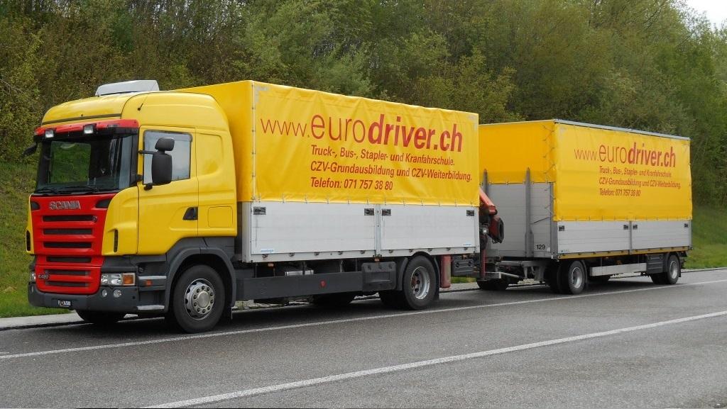 Scania R420, Lastwagenfahrschule