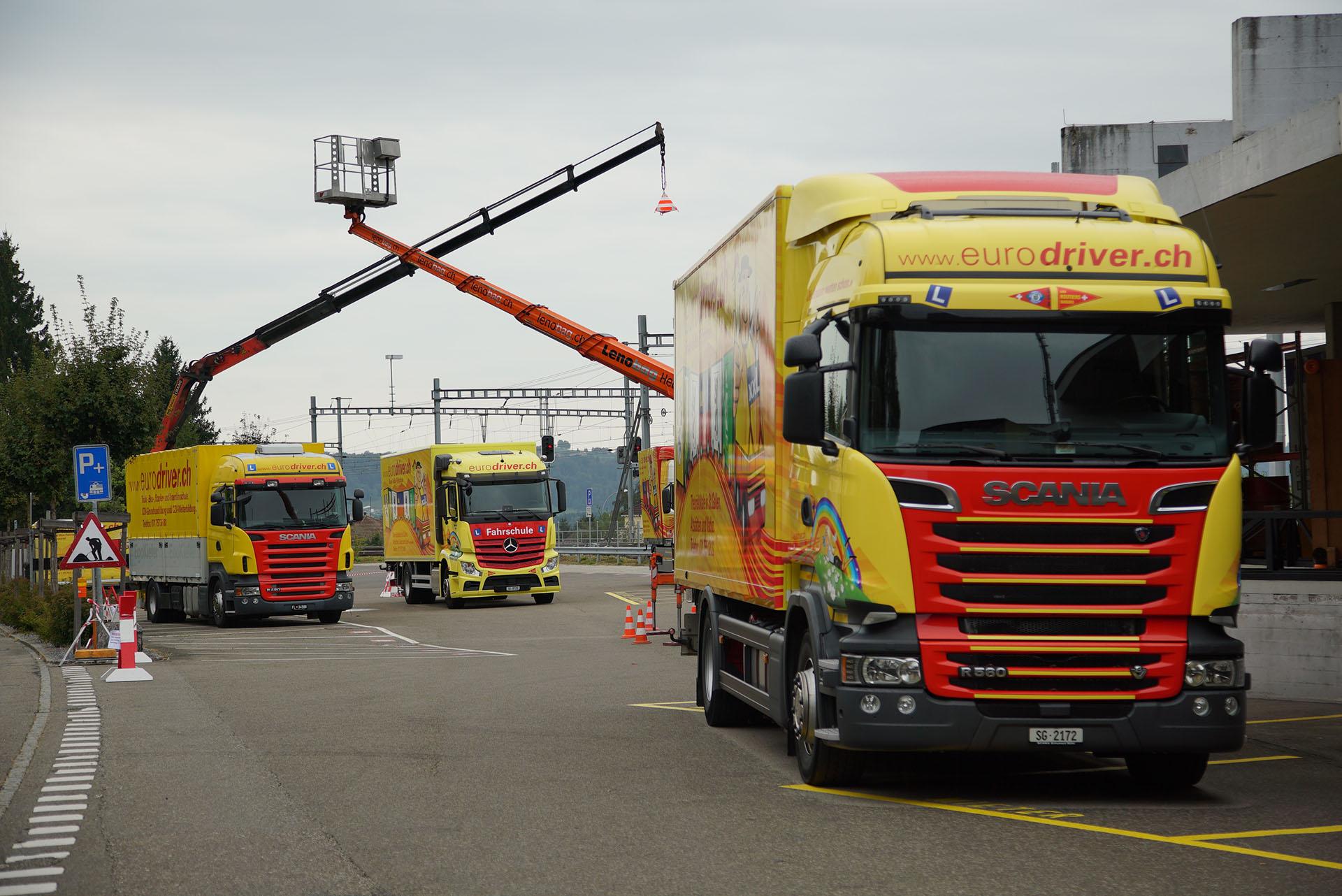 Scania LKW der Eurodriver AG